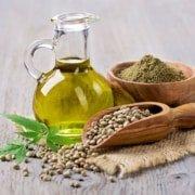 Hemp Oil and seeds