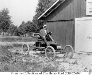 Ford's 1914 Electric Car